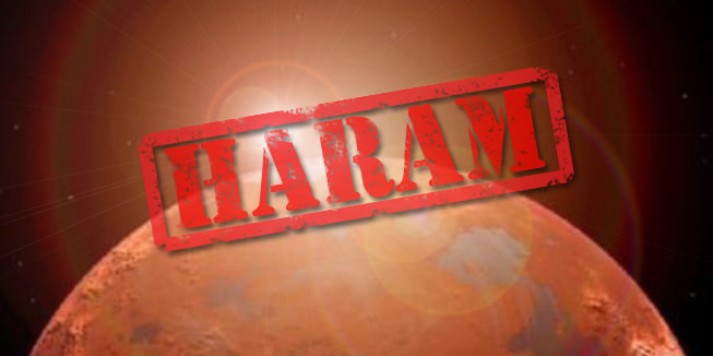 How Mars Became Haram: A Guide to Freaky Fatwa News