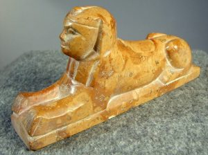 Sphinx carving