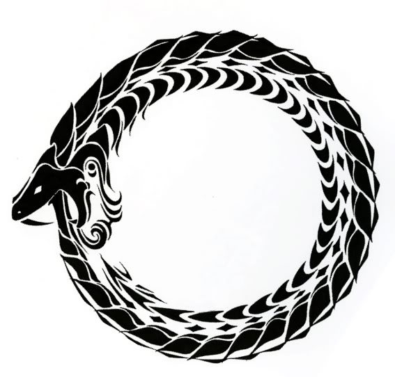 Ouroboros Tattoo Design: The Man Who Might Have Been